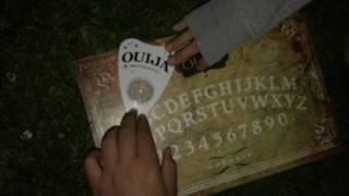 Ouija board in cemetery! [GONE WRONG]