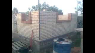 Как построить кирпичный дом/How to build a brick house ?
