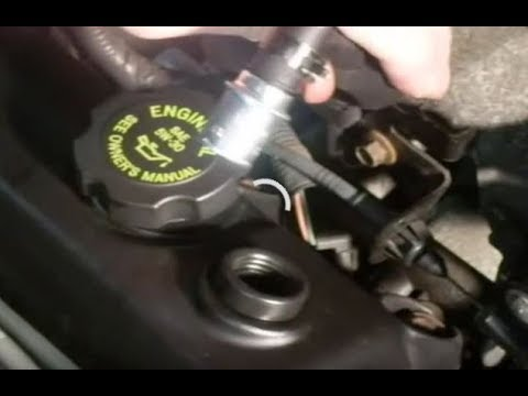 Pcv Valve and Grommet Replacment - YouTube