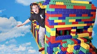 I Built a GIANT LEGO Fortnite Battle Bus!