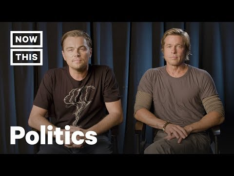Leonardo DiCaprio and Brad Pitt on What's at Stake in the 2018 Midterms  NowThis