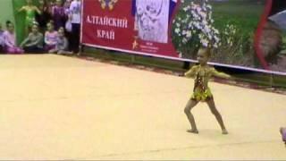 Художественная гимнастика Паринова Катя 2005 г.р. mpg