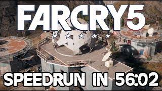 Far Cry 5 Speedrun - Outpost Master in 56:02