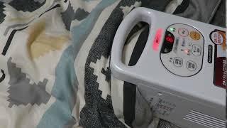 ふとん乾燥機カラリエ FK-C2(アイリスオーヤマ)の温風音