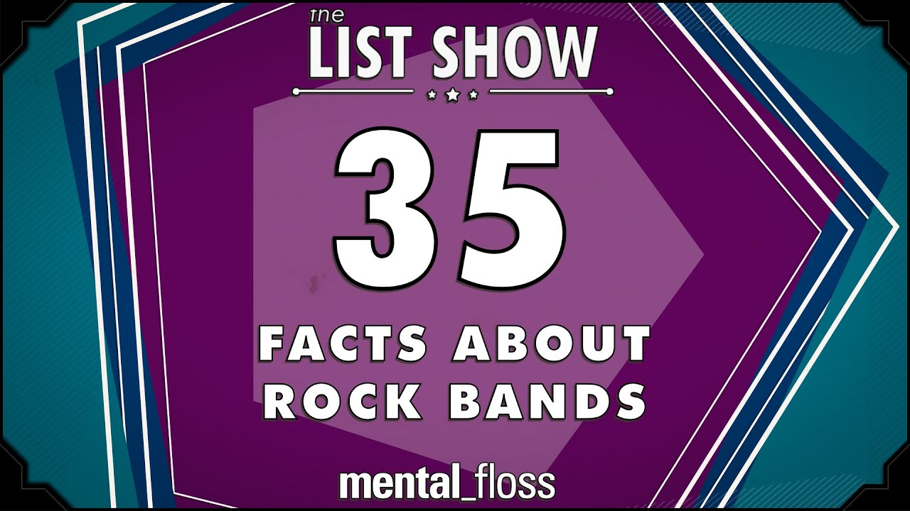 35 facts about rock bands mentalfloss list show ep