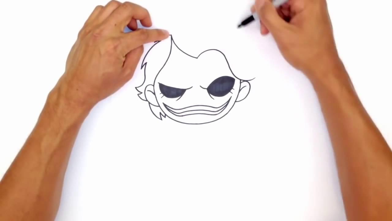 Comment dessiner le joker youtube - Comment dessiner joker ...