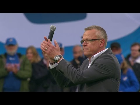 Känslosam Janne Andersson tackar Pekings supportrar - TV4 Sport