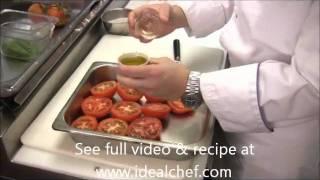 Charred Tomato Vinaigrette By Idealchef.com
