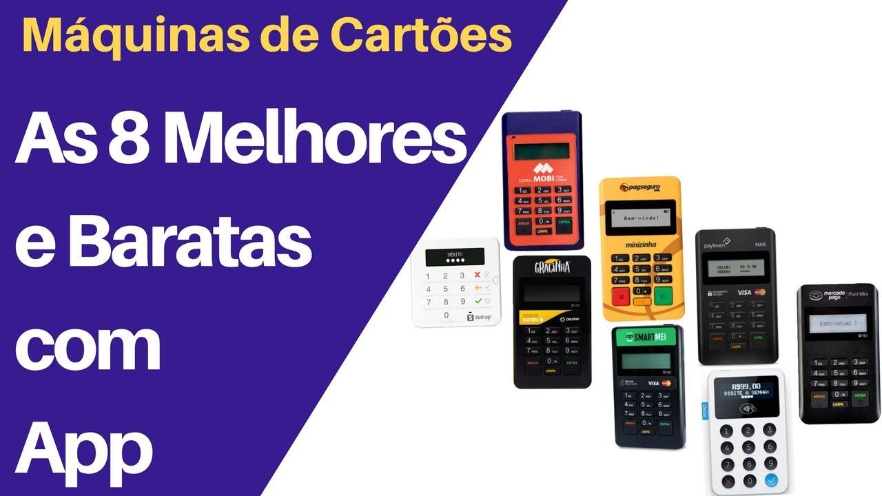 6bfc4a465 8 Melhores Máquinas de Cartões com App #PagamentosMóveis - YouTube