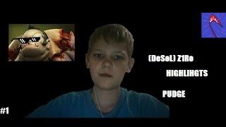 Dota 2 (DeSoL)_Z1Ro_ - Highlights - Pudge - #1