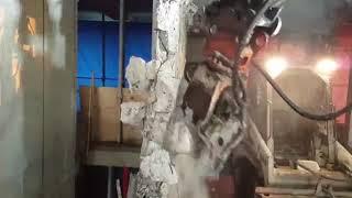 CISAILLE BETON POUR MINI-PELLE ELECTRIQUE vidéo