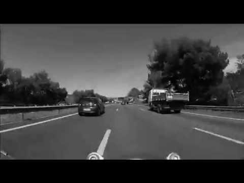 Version Autoroute - WARNING BIKER, IF YOU BOMD IT HURT - VIDEO - IMPROVISATION BY PHILIPPE CASETTI