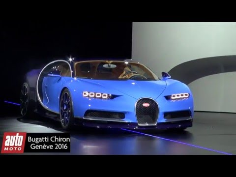 2016 bugatti chiron les infos puissance vitesse prix salon de geneve youtube. Black Bedroom Furniture Sets. Home Design Ideas