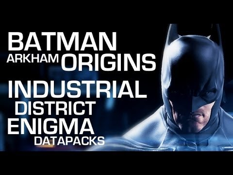 Batman: Arkham Origins Enigma Data Packs - Industrial District