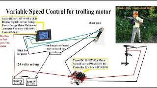 motorguide 70 pound trolling motor - how many current in water under load? with and without PWM
