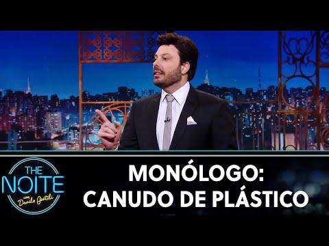 Monólogo: Canudo de plástico   The Noite 180719