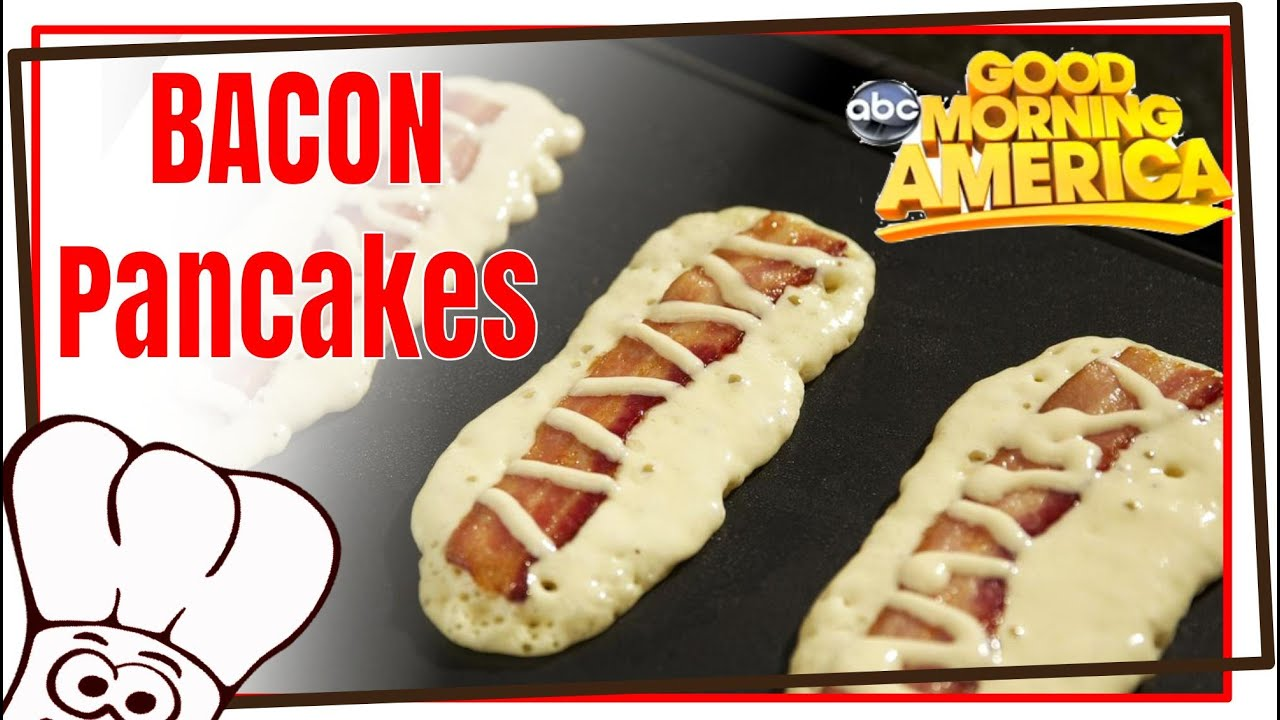 Candy bacon pancake dippers good morning america recipe with candy bacon pancake dippers good morning america recipe with michael austin ccuart Gallery