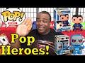 FUNKO POP VINYL SUPERMAN & DARKSEID Unboxing & Review!
