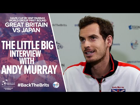 The little big interview with Andy Murray