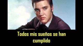 ELVIS PRESLEY - Love me tender ( con subtitulos en español ) BEST SOUND