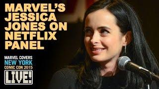 Marvel's Jessica Jones Panel at NYCC