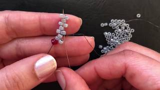 Odd Count Peyote Stitch.The Easiest Method in the World
