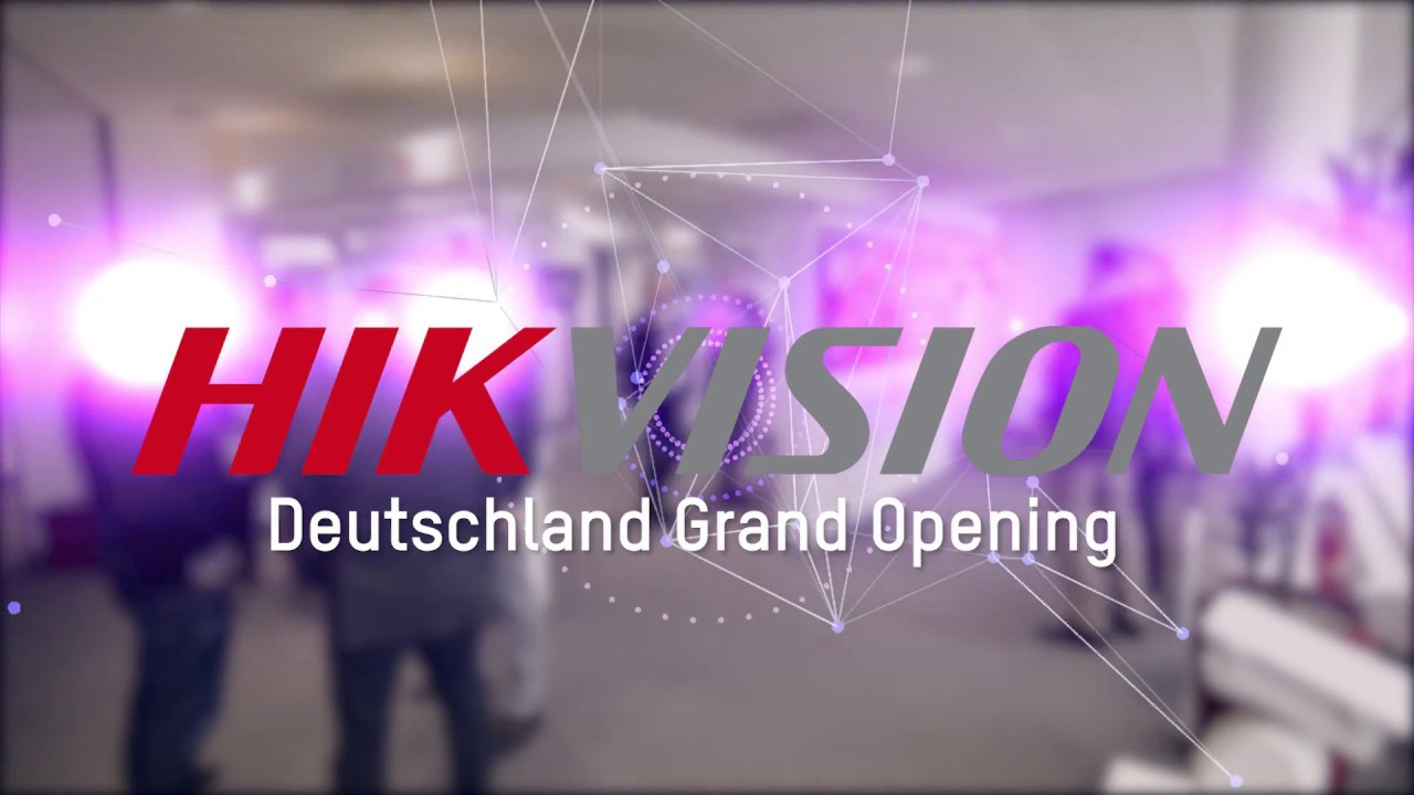 Hikvision opens new DACH offices in Frankfurt | SecurityWorldMarket com