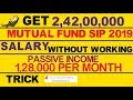 Regular Income कैसे बनाएँ? Passive Income Mutual Funds for BEGINNERS 2019