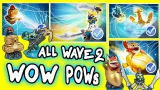 All Skylanders Swap Force Wow Pows for Wave 2 S2 S3 Trigger Happy, Sprocket, Chop Chop, Gill Grunt