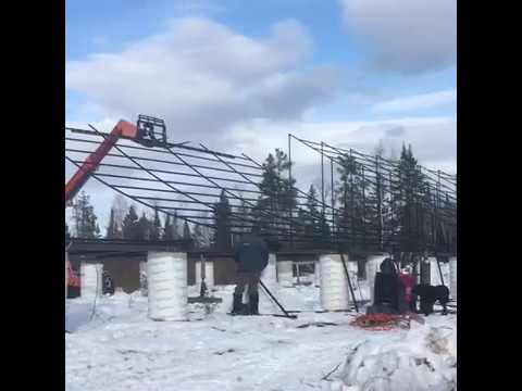 200.2 kW ground mounted solar system in Manitoba