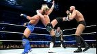 Cesaro Vs. Dolph Ziggler Vs. Tyson Kidd Smackdown [Highlights]