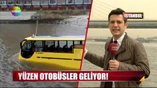 Yüzen otobüsler geliyor!
