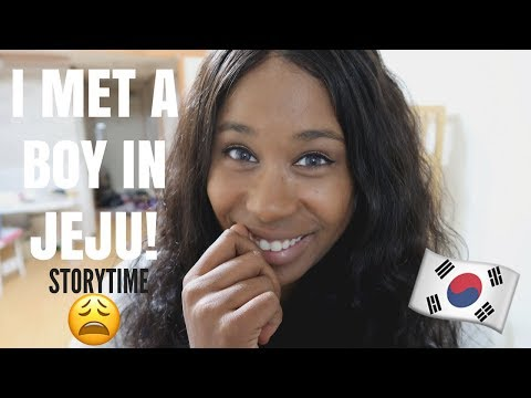 KOREAN GUY FROM JEJU! - STORYTIME | LIFE IN KOREA VLOG | ARIELAMAZINGGDAY