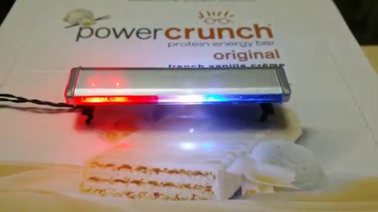 1 18 Light Bar Police Car Diecast Led Lights Lapd Youtube