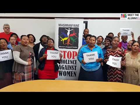 Meet the AlumnU S  Dr  Lesley Ann Foster   Masimanyane Women's Rights International