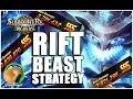 SUMMONERS WAR : Rift Beast Strategy (Water, Fire, Wind, Light, Dark)