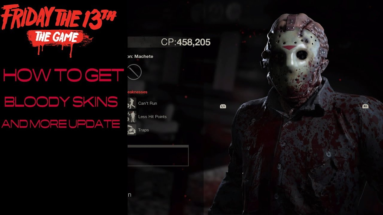 How can you obtain the Bloody Jason skin ? :: Friday the ...