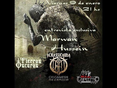 Acrassicauda Radio interview with Espectro  98.9 FM Argentina - Part 1