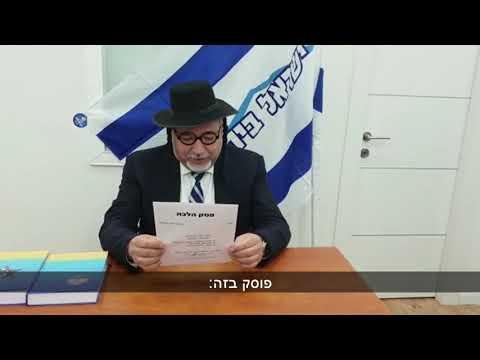 Liberman Dresses As Charedi Mocking Rabbis In Purim Video