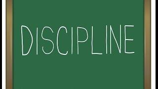 Нужна ли дисциплина и Дисцеплинированный ли вы человек??? Очередное задание по ЧМПБ