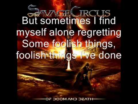 Savage Circus - Don't let me be misunderstood