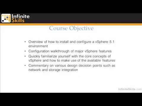 Introduction to VMware ESXi and vSphere 5.1 Administration