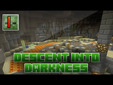 Minecraft - Descent Into Darkness: 1 - Explosive Beginnings