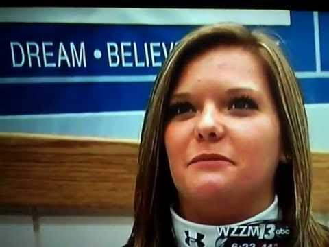 Megan Chase on WZZM News