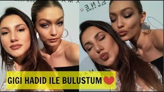 Gigi Hadid ile Buluştum ! GIGIHADID X MAYBELLINE KOLEKSİYONU | New York Lansmanı