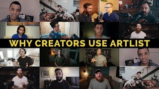 Why Creators Use Artlist