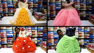 Naza Diwali Kidswear Collections || Girls Kids Partywear Collections