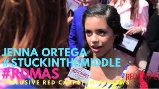 Jenna Ortega #StuckInTheMiddle at the 2016 Radio Disney Music Awards #RDMAs #RedCarpet