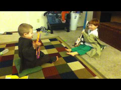 Caleb & Isaac reenactment of Cello wars by thepianoguys mp3