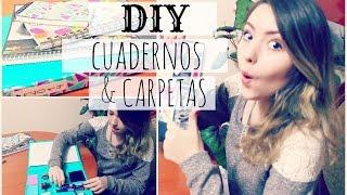 DECORA TUS CUADERNOS & CARPETAS PARA CLASES | Ekaty